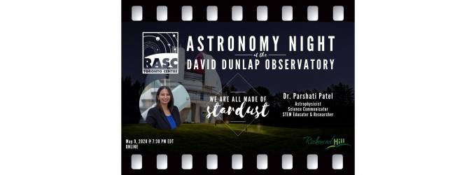 We Are All Made of Stardust with Dr. Parshati Patel