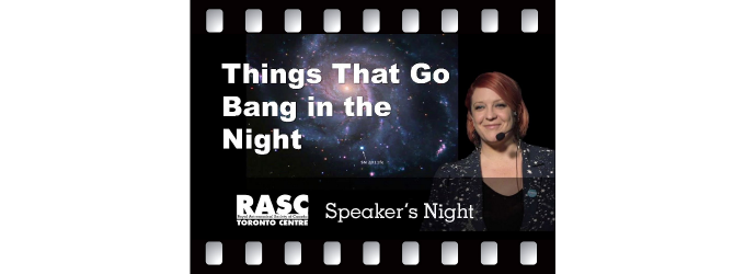 Illuminating the Dark Universe with Things That Go Bang in the Night