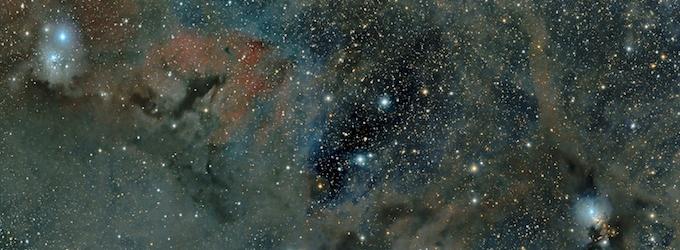 Perseus Molecular Cloud IC348 NGC1333 by RASC member Lunn Hiillborn