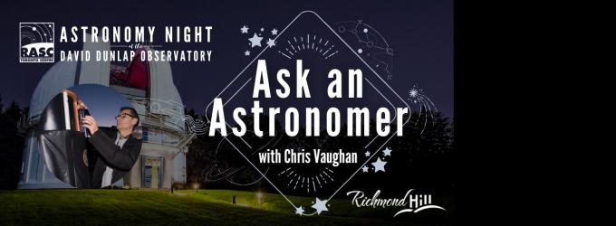 DDO - Ask an Astronomer
