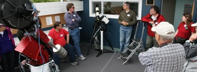 Telescopes at the CAO
