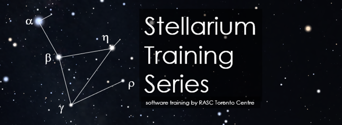 Stellarium Training Series