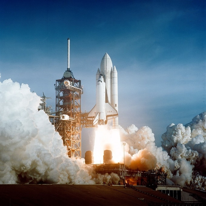launch of the first Space Shuttle