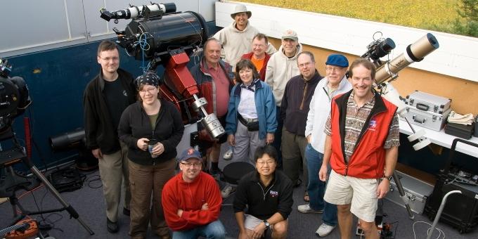 RASC volunteers at a members workshop