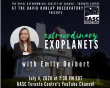 Extraordinary Exoplanets with Emily Deibert