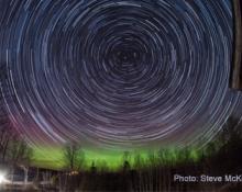 Star Trails by Steve McKinney