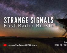 Strange Signals: Fast Radio Bursts