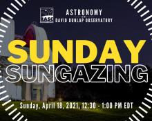 Sunday Sungazing