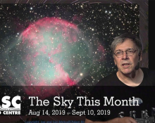 The Sky This Month Aug 14 - Sept 10, 2019