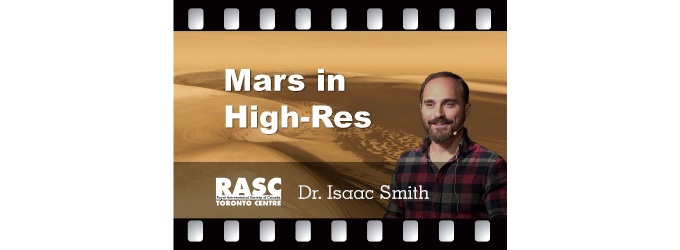 A High Resolution View of Icy Mars with Dr. Isaac Smith