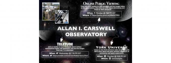 Allan I. Carswell Observatory
