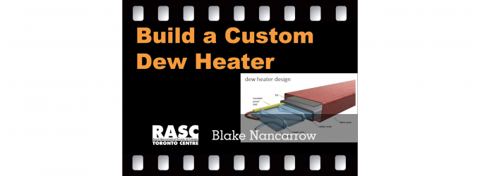 Build a Custom Dew Heater for your Telescope