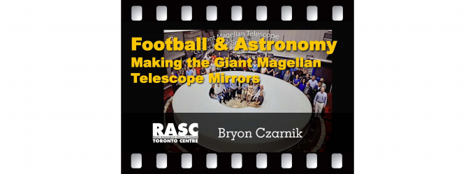 Football and Astronomy - The Making of the Giant Magellan Telescope Mirrors