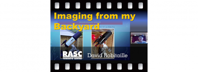 Imaging from my Backyard