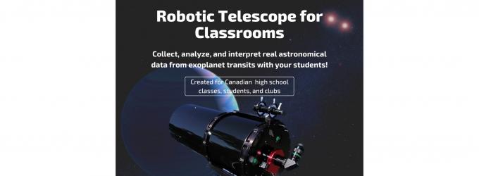 Robotic Telescope for Classrooms