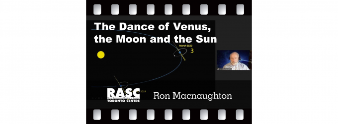 The Dance of Venus, the Moon and the Sun
