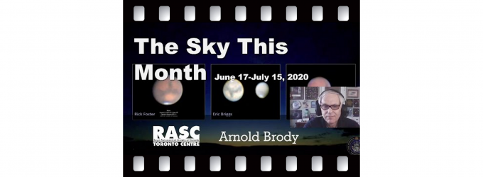 The Sky This Month for June 17 - July 15, 2020