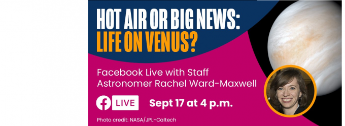 Hot air or big news: life on Venus?