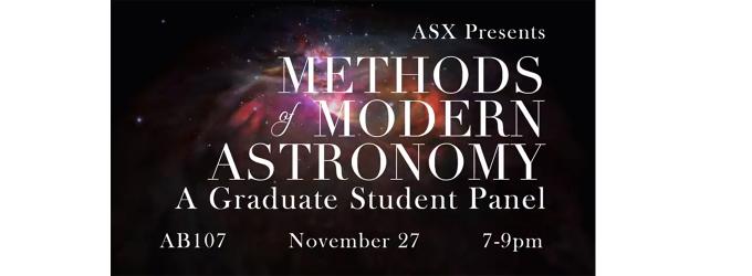 Methods of Modern Astronomy