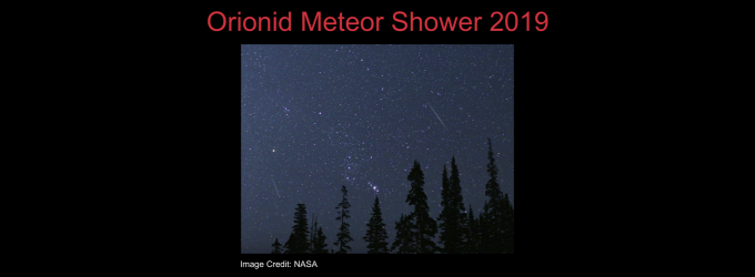Orionid Meteor Shower 2019