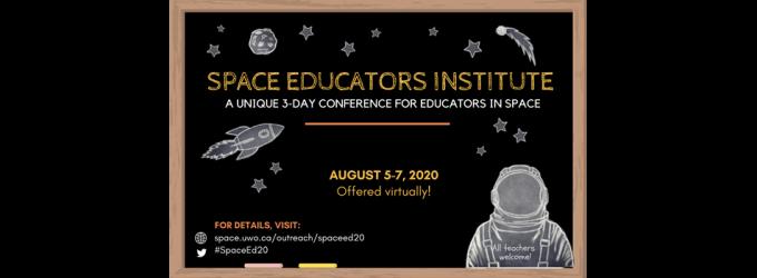 Space Educators Institute Conference 2020