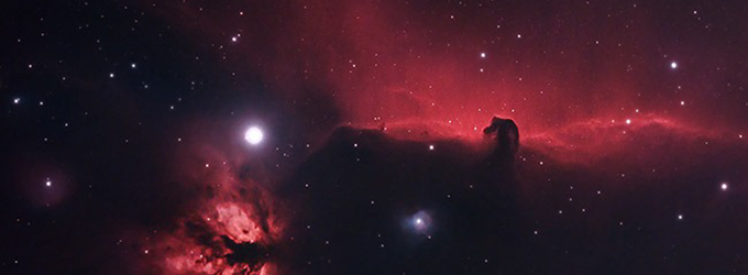The Horsehead Nebula (and Flame Nebula) by Trevor Jones