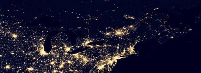 Earth at Night (NASA)
