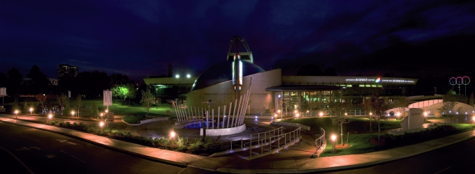 Ontario Science Centre at Night