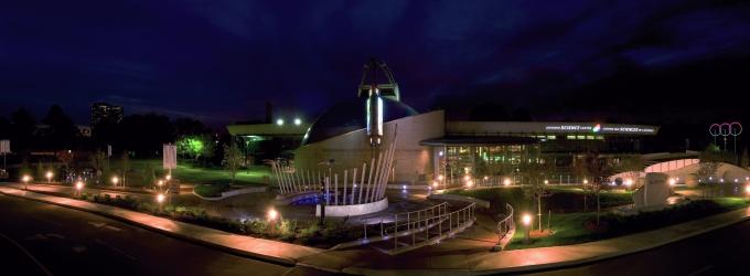 Ontario Science Centre at Night