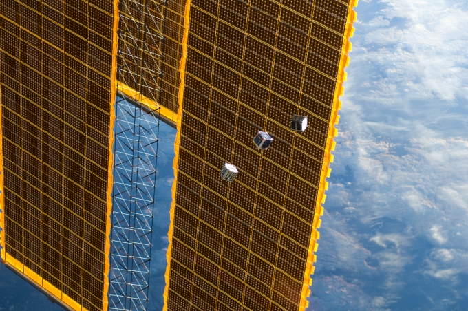 CubeSats launched from ISS by NASA