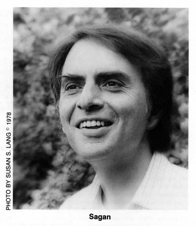 Carl Sagan by Susan Lang