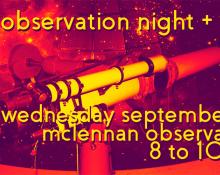 ASX Observation Night