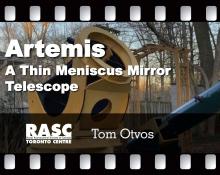 Artemis: A Thin Meniscus Mirror Telescope