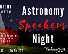 Astronomy Speakers Night