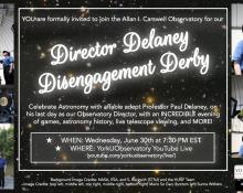 Director Delaney Disengagement Derby