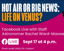 Hot air or big news: life on Venus?