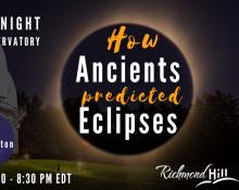 Jun 5 Astronomy Speakers Night