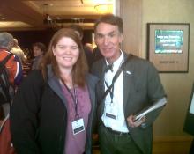 Kim Tait & Bill Nye