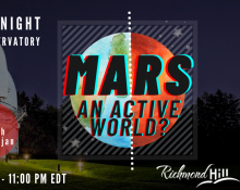Mars - An Active World