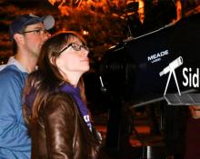 McMaster's Sidewalk Astronomy