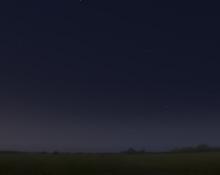 morning planets April 2020