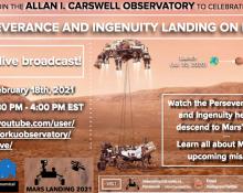 Perseverance and Ingenuity Landing on Mars!