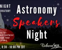 Astronomy Speaker's Night