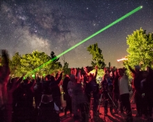 Laser-Guided Stargazing Tours