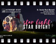 Star Light, Star Bright with Dr Rachel Ward-Maxwell