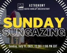 Sunday Sungazing July 11