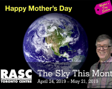 """The Sky This Month April 24 - May 21, 2019 """"The Mother's Day Edition"""""""