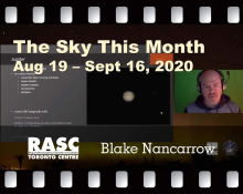 The Sky This Month Aug 19 - Sept 16, 2020