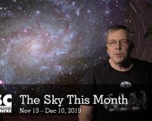 The Sky This Month Nov 13 - Dec 10, 2019