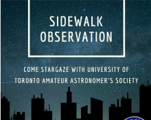 UTAAS Sidewalk Astronomy